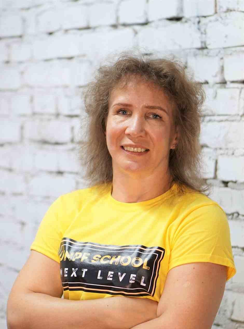 Гресь Анита преподаватель Школы Фитнеса Next-level
